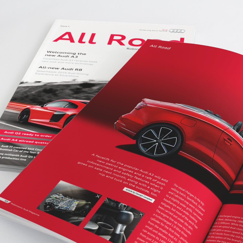 Audi Publication Design