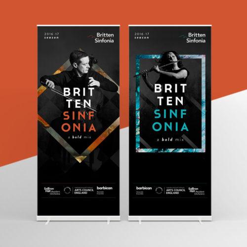 britten sinfonia campaign design