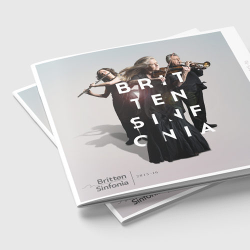 britten sinfonia ad campaign