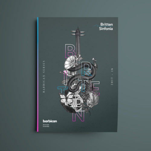britten sinfonia advertising design