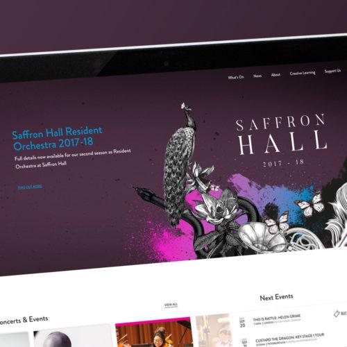 britten sinfonia web design