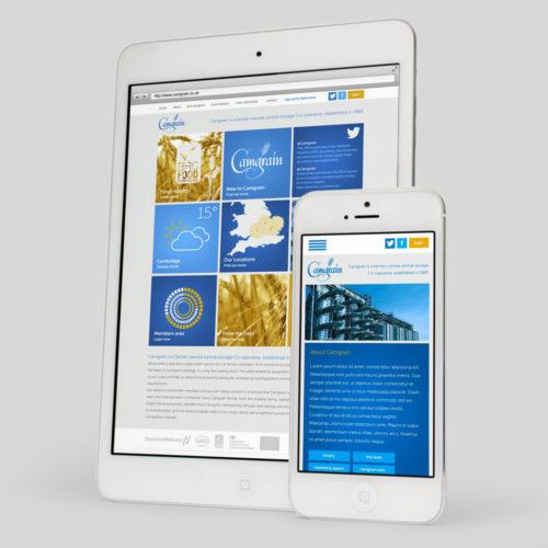 camgrain website design cambridge