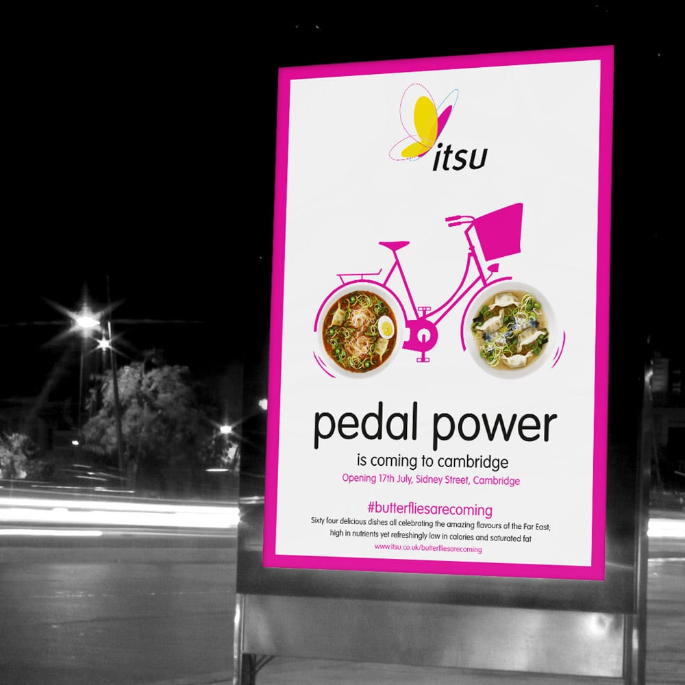itsu advertising design