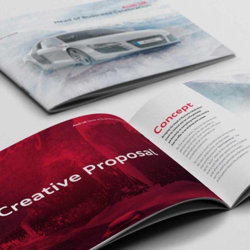 Audi Brochure Design