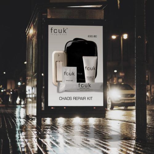 fcuk point of sale design