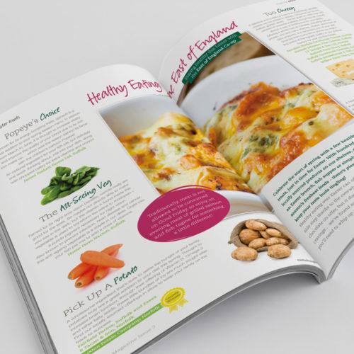 Co-op publication design