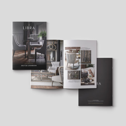libra look book design