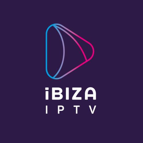 ibtv logo design ibiza