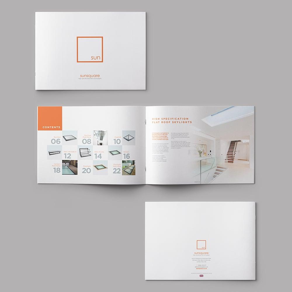 sunsquare bury st edmunds brochure design