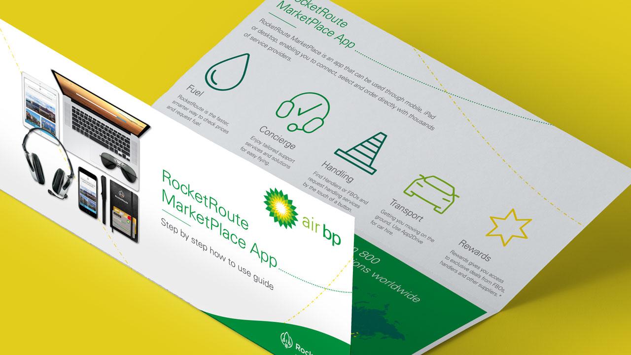 Air BP A4 Folded Leaflet Print