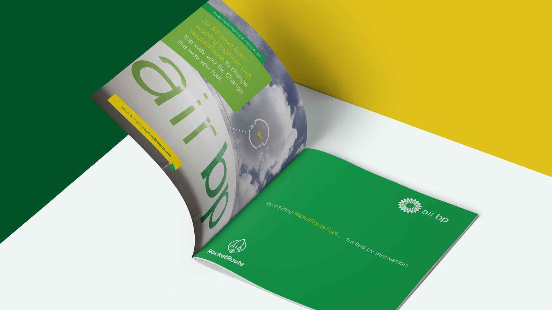 Air BP Brochure Mockup Print Design