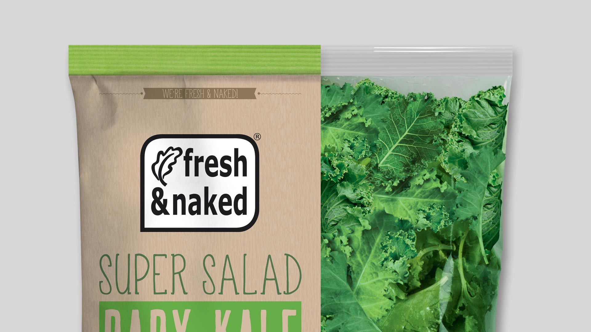 Gs Fresh Packaging Design Baby Kale