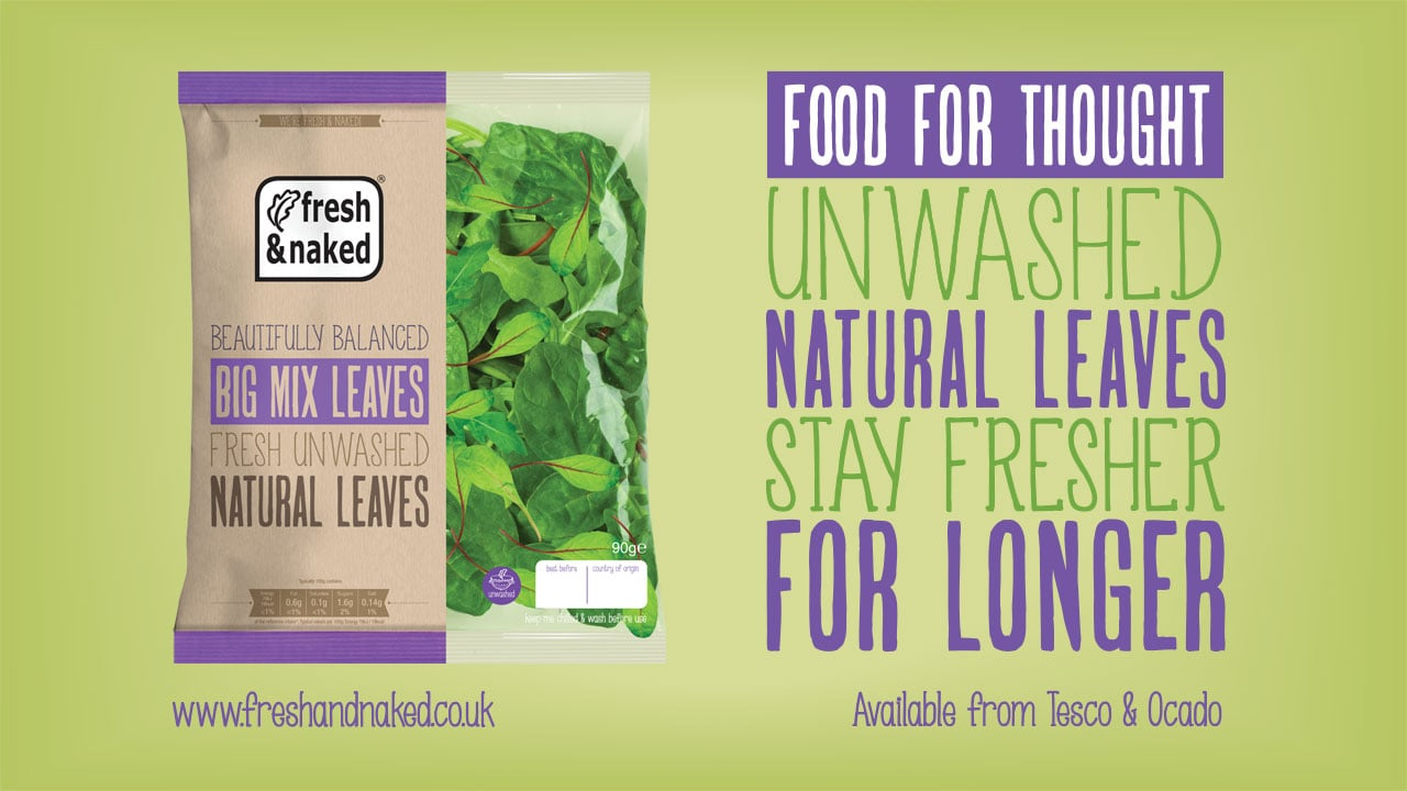 Gs Fresh Packaging Design Big Mix Leaves Promotional
