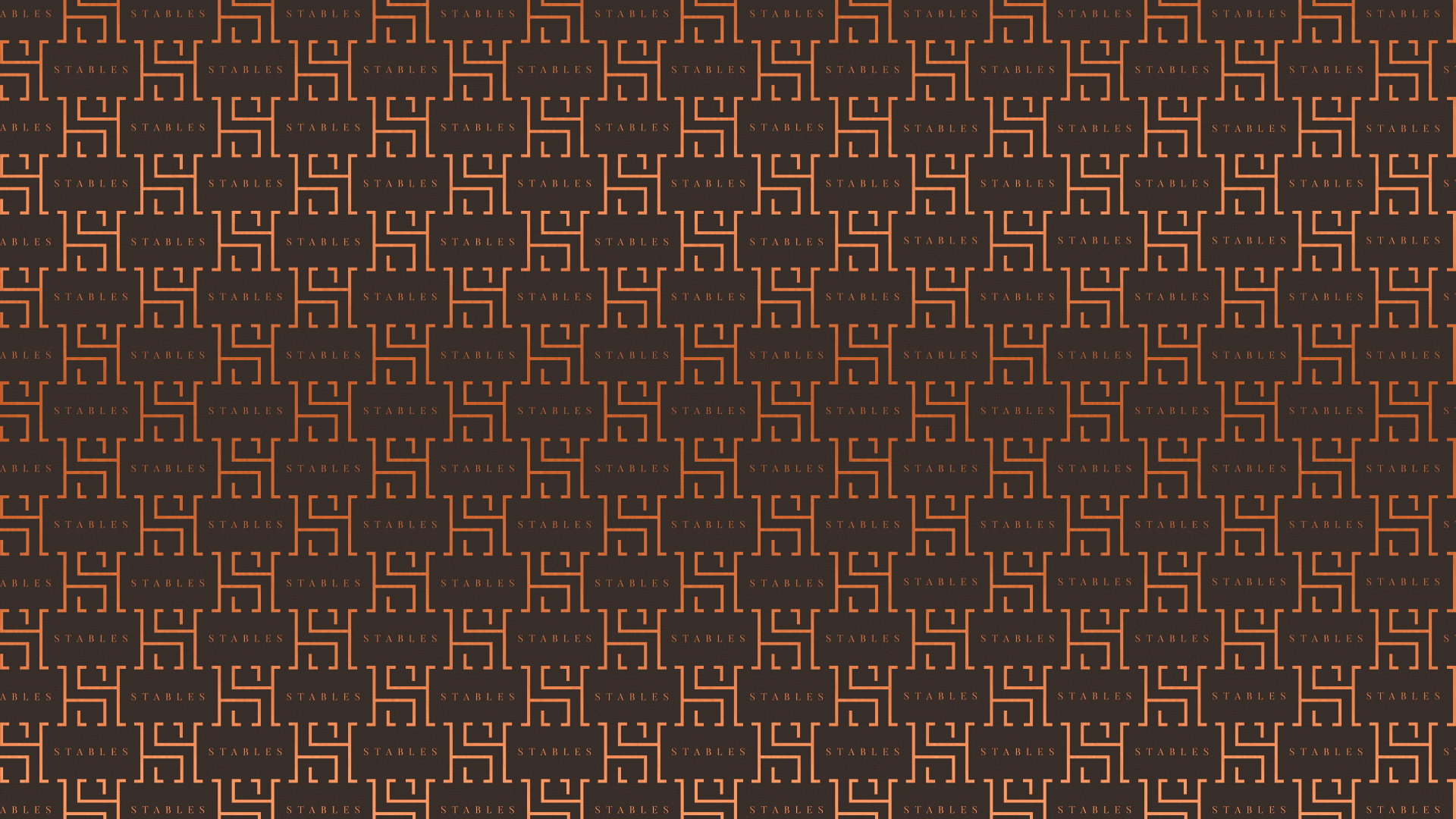 Heath House Logo Repeating Pattern Foil