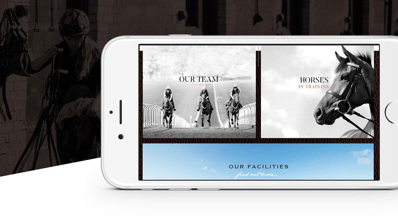 Heath House Mobile Website Design iPhone Landscape