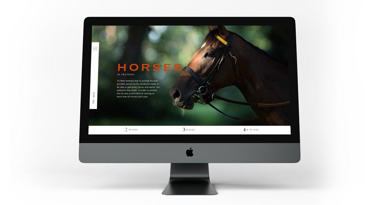 Heath House Website Design Full Width Browser mock-up