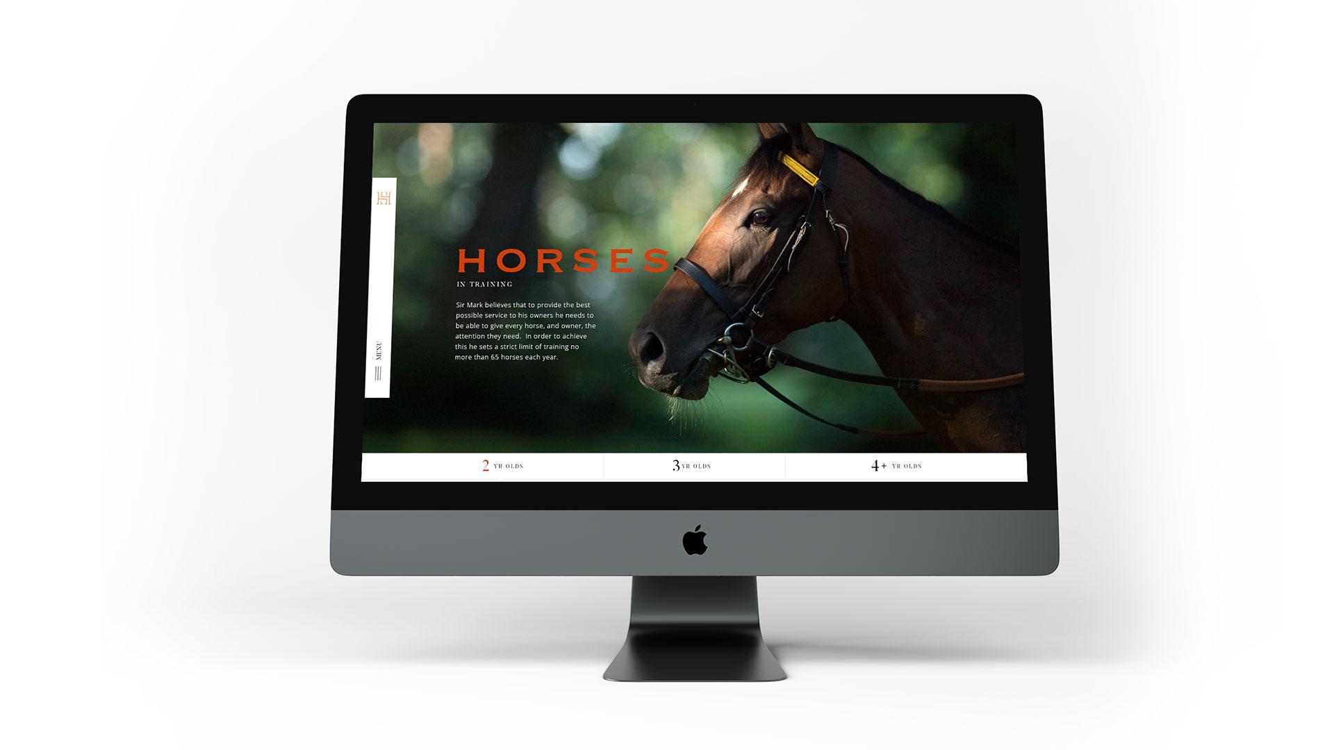 Heath House Website Design Full Width Browser
