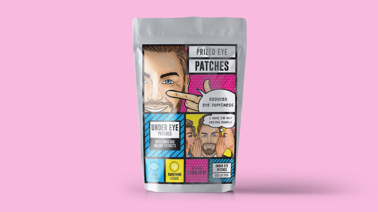 K Beauty packaging design eye patches