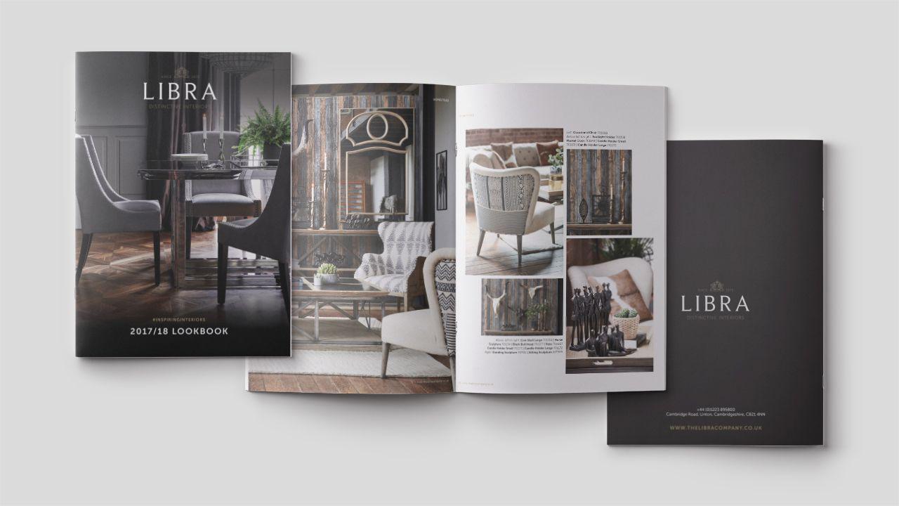 Libra branding lookbook design