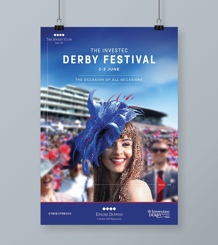 The Jockey Club Race On Branding Poster Design