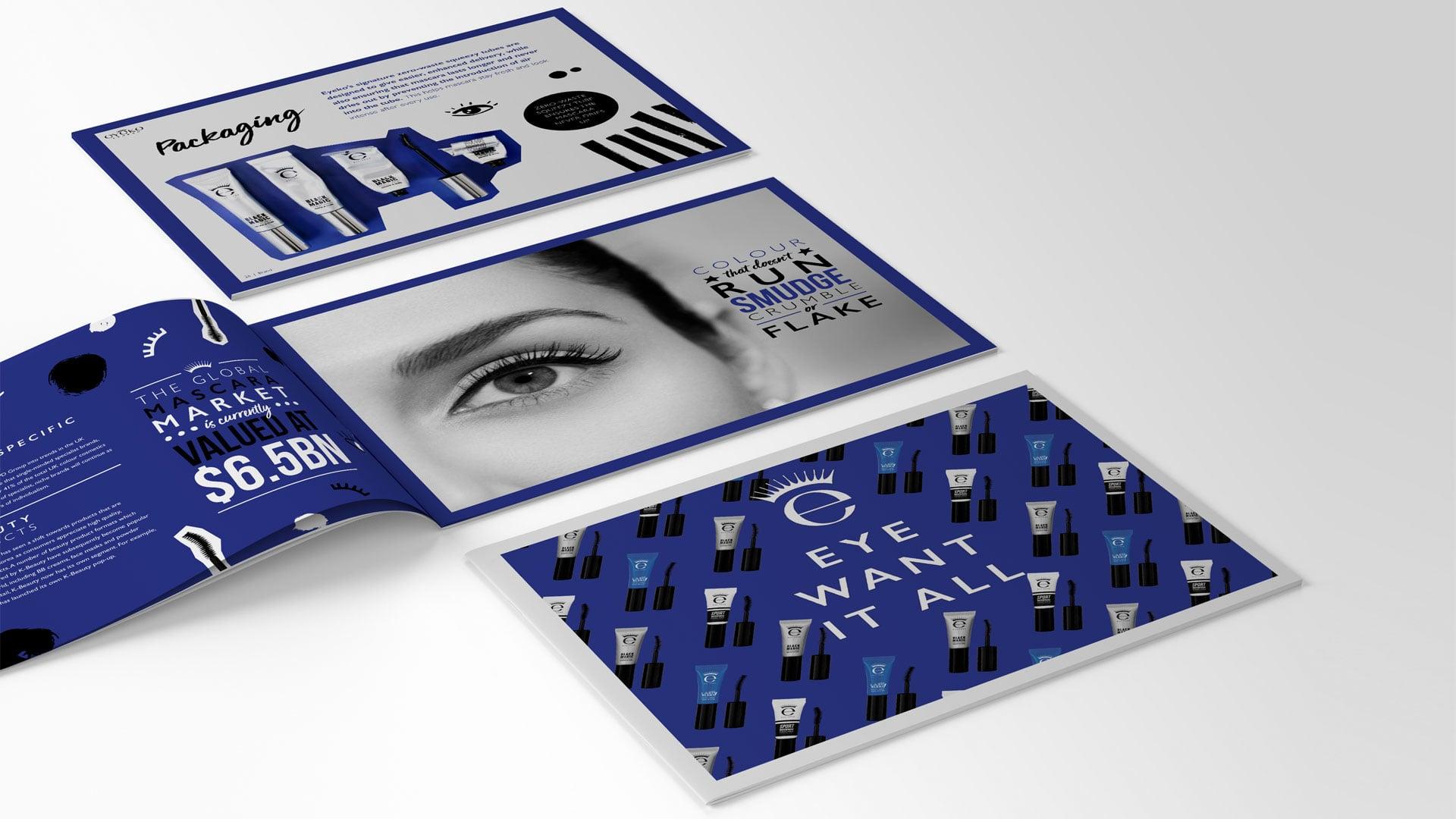 Eyeko Brochure Design