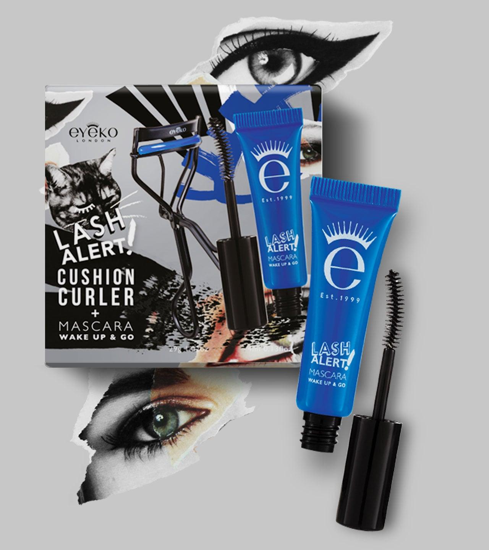 Eyeko Cusion Curler Mascara Gift Set Design