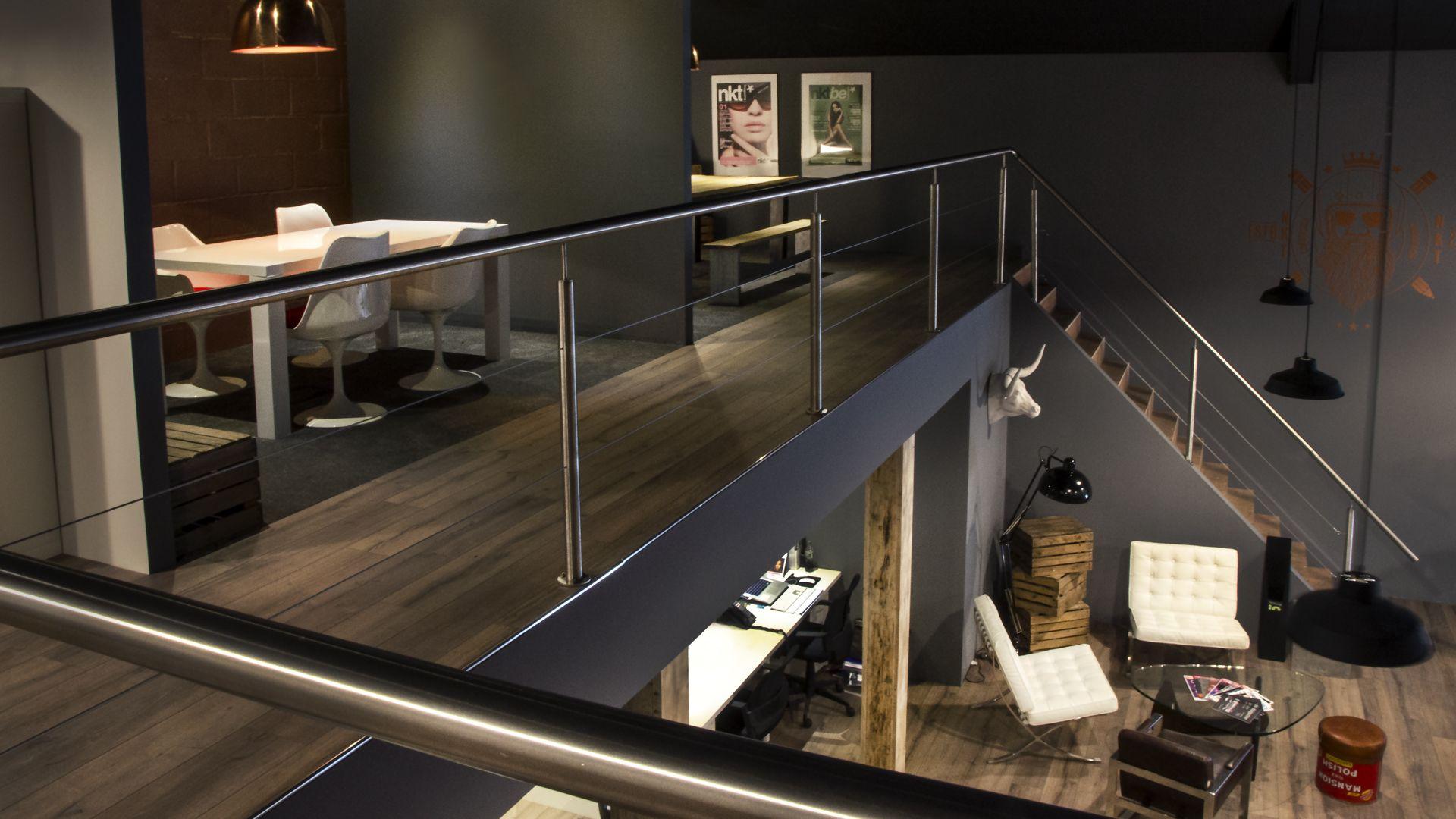 Cubiq design office second floor