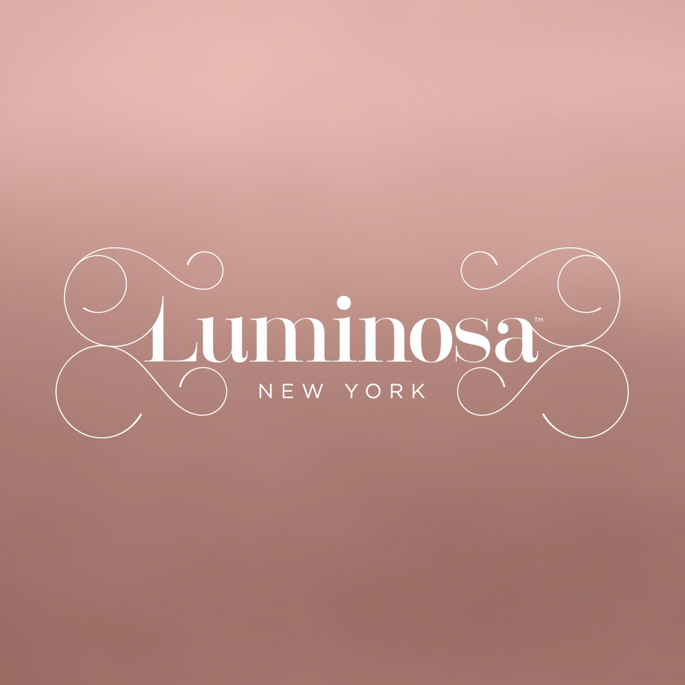 luminosa logo design