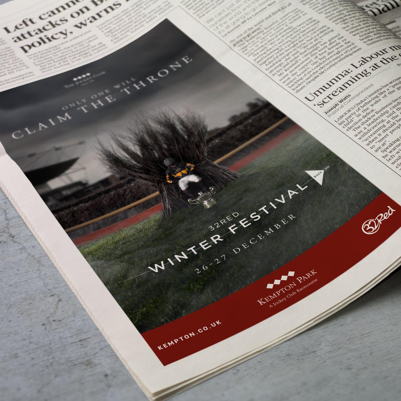 Advertising Campaign The Jockey Club