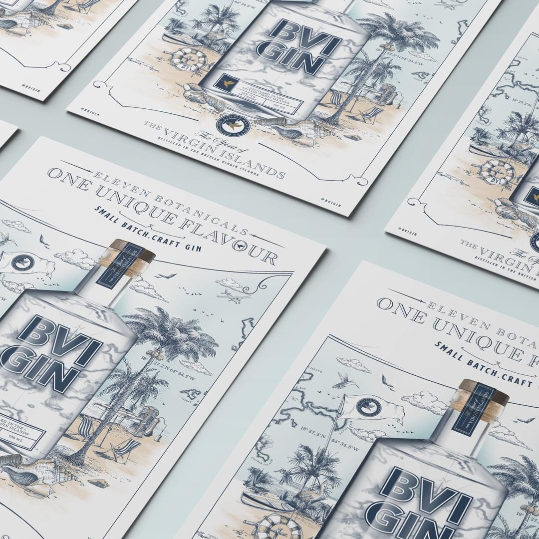 Poster Design BVI Gin