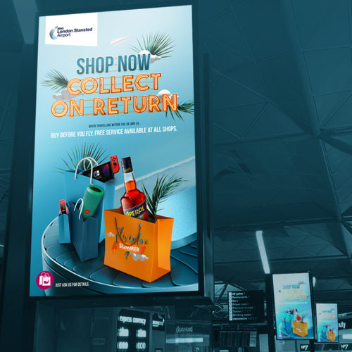 Stansted Airport Summer Campaign